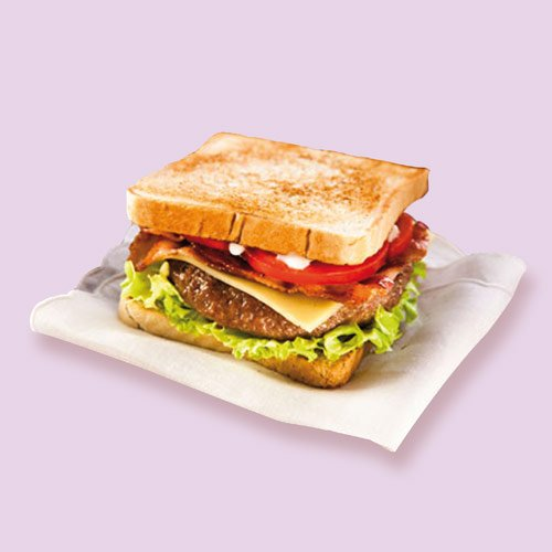 starsandwich-toast-hamburger
